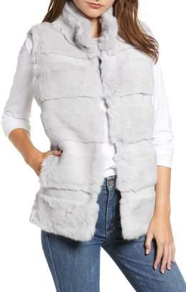 Love Token Genuine Rabbit Fur Vest