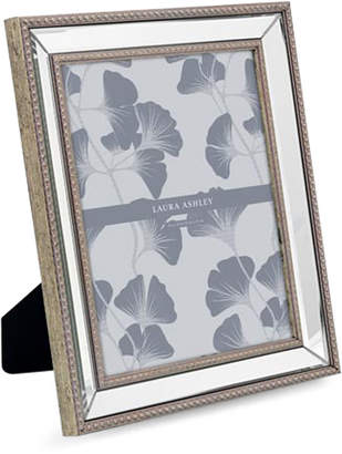 """Laura Ashley 8"""" x 10"""" Bead Mirror Picture Frame"""