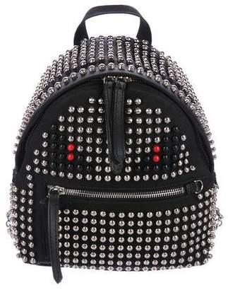 Fendi Studded Monster Backpack