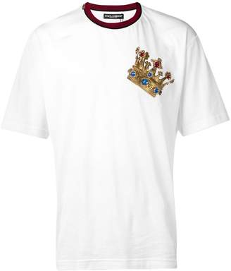 cad75594959f Dolce And Gabbana T Shirts For Men Crown - ShopStyle