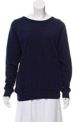 Dries Van Noten Faded Zipper-Accented Sweatshirt