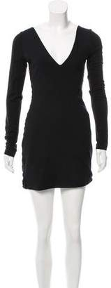 Rag & Bone Gathered Mini Dress