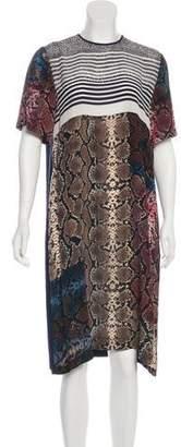 Preen by Thornton Bregazzi Silk Printed Dress