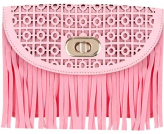 Sumaclife Women's Cute Compact Fringe Purse Shoulder Bag (fits cell phones up to 6.25in x 3.1in)