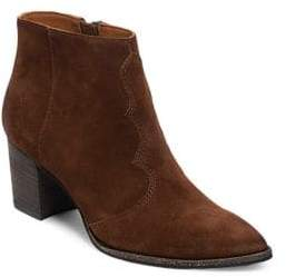 Dolce Vita Lennon Suede Point Toe Ankle Boots