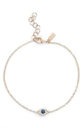 Ef Collection Evil Eye Line Bracelet