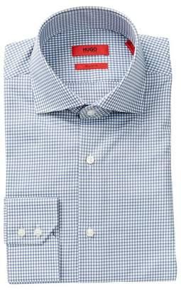 BOSS Gerald Plaid Print Regular Fit Woven Shirt