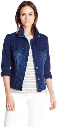 Liverpool Jeans Company Women's Power Flex Stretch Knit Denim Jacket