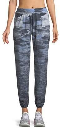 Terez Camo-Print Ombre Jogger Pants