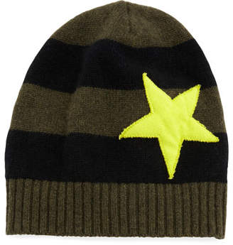 Lucky Star Lisa Todd Striped Cashmere Hat