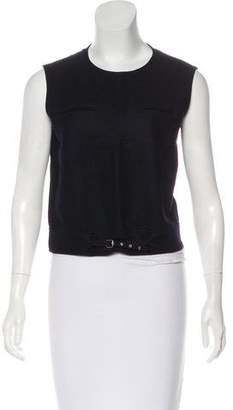 Miu Miu Wool Sleeveless Top