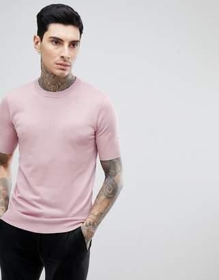 Gianni Feraud Crew Neck Short Sleeve Sweater