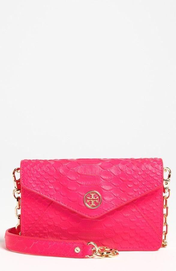 'Neon Snake' Crossbody Bag Energy Pink