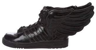 Jeremy Scott x Adidas Boys' Patent Leather Wing Sneakers