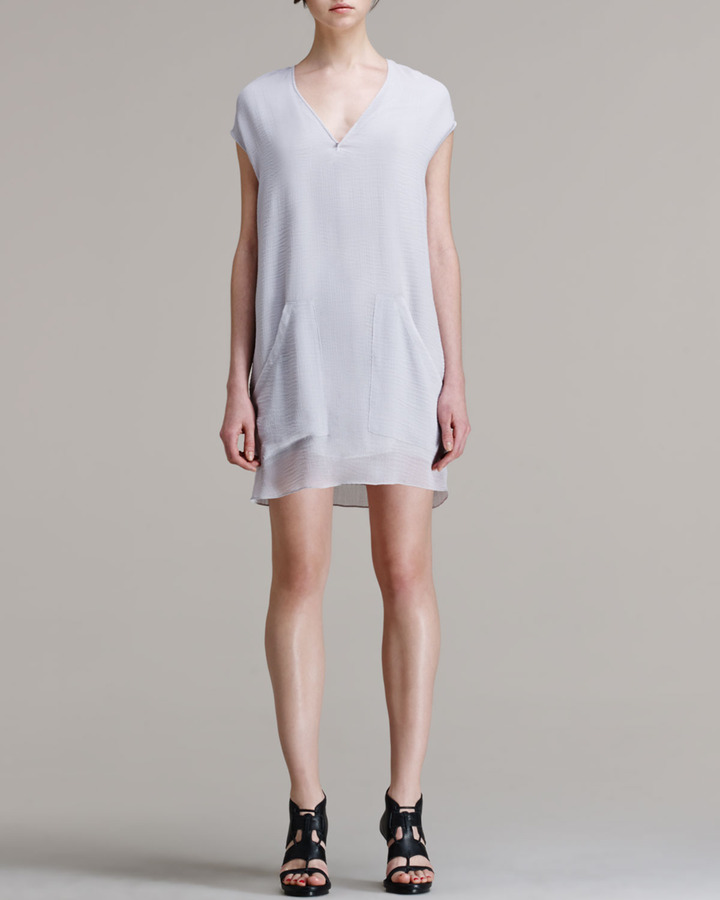 Helmut Lang HELMUT Breeze Slouchy Pocket Dress