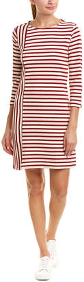 Three Dots Stripe Shift Dress