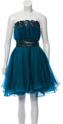 Christian Cota Silk Mini Dress