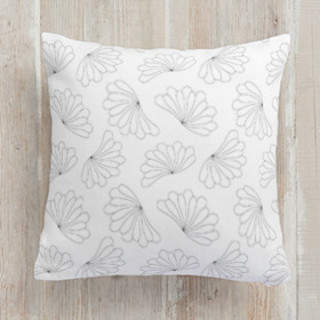 Petal Fan Square Pillow