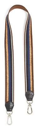 Longchamp Striped Shoulder Strap