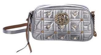Gucci GG Marmont Embellished Crossbody Bag