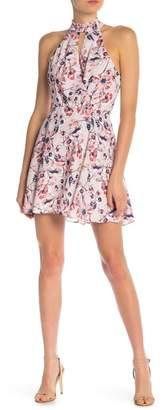 Parker High Neck Wrap Dress