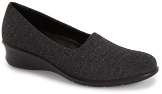 ECCO 'Felicia - Stretch' Wedge Loafer (Women) $109.95 thestylecure.com