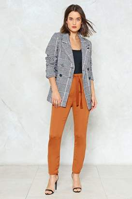 Nasty Gal It'll Work Out High-Waisted Pants