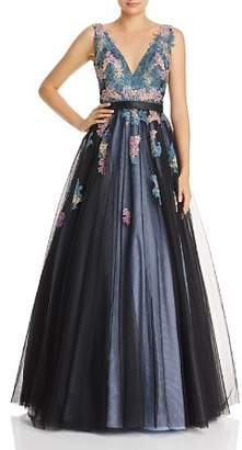 Basix II Embroidered Ball Gown
