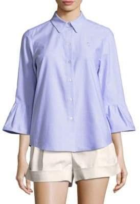 Marc Jacobs Flare-Sleeve Shirt
