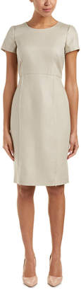 Lafayette 148 New York Jones Linen Sheath Dress