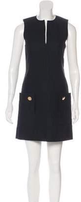Derek Lam Sleeveless Mini Dress Black Sleeveless Mini Dress