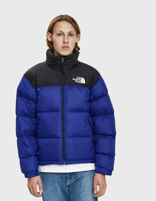 The North Face Black Box 1996 RTO Nuptse Down Jacket in Aztec Blue