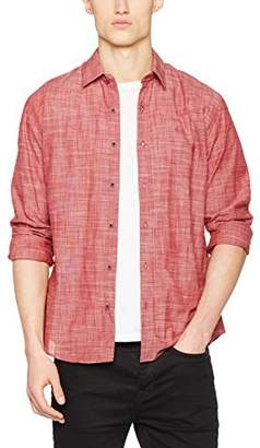 Cross Men's 35083 Casual Shirt, (Dark Red)