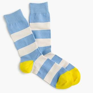 J.Crew Trouser socks in rugby stripes