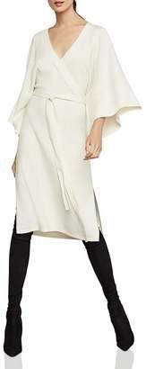 BCBGMAXAZRIA Tie-Waist Sweater Dress