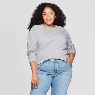 Universal Thread Women's Plus Size Crew Sweatshirt