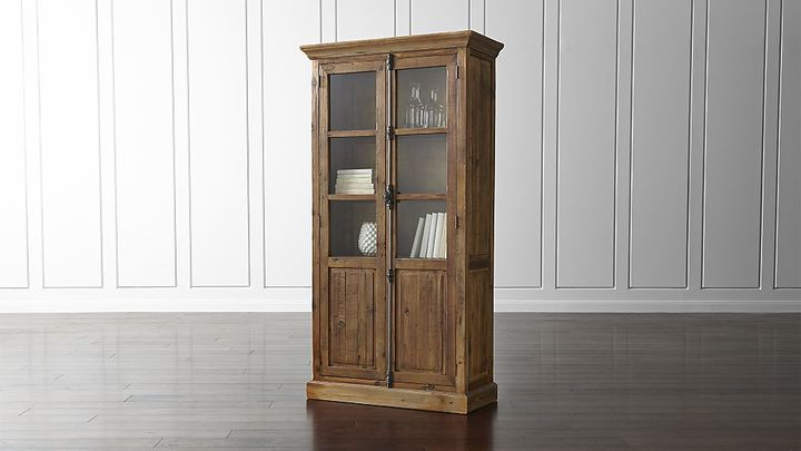 Crate & Barrel Bedford Tall Cabinet