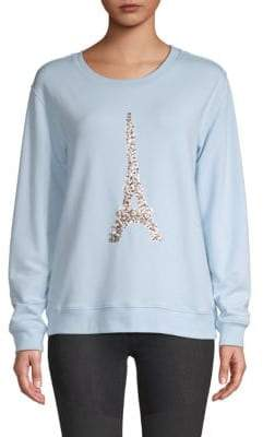 Sequin Eiffel Tower Pullover
