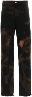 424 Bleach Canvas Work Pants