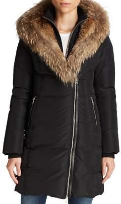 Mackage Fur-Trimmed Trish Down Coat