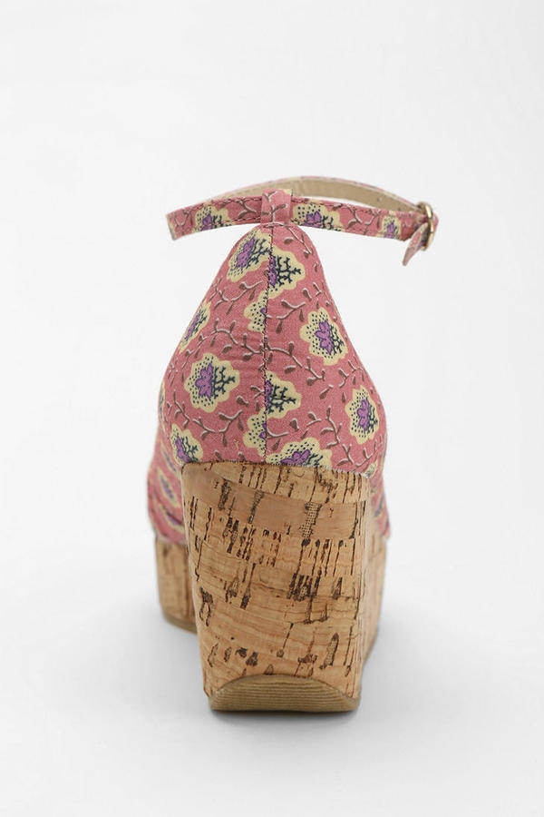 PeepToe Restricted Lolly Peep-Toe Platform Sandal