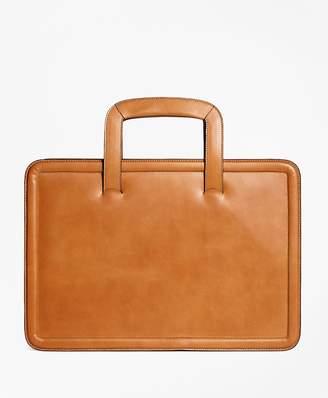 Leather Briefcase $298 thestylecure.com