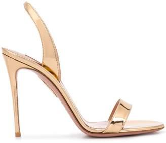 Aquazzura So Nude 105 sandals