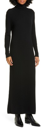 Nili Lotan Cassandra Long Sleeve Cashmere Turtleneck Dress