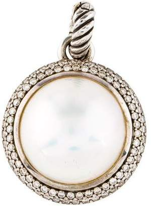 David Yurman Pearl & Diamond Cerise Pendant