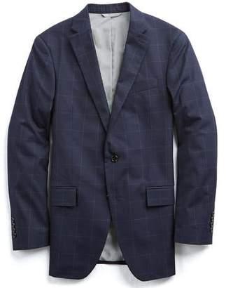 Todd Snyder White Label Sutton Windowpane Cotton Suit Jacket In Navy