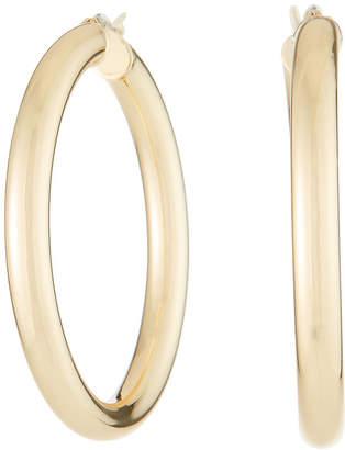 Fragments for Neiman Marcus Golden Hoop Earrings