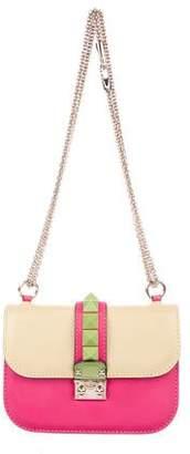 Valentino Colorblock Small Glam Lock Bag
