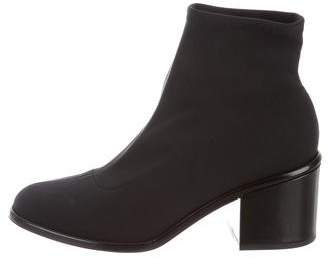 Robert Clergerie Round-Toe Ankle Boots w/ Tags