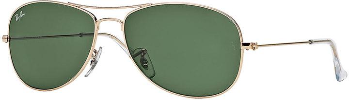Ray-Ban Aviator Sunglasses, Gold